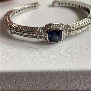 Judith Ripka cuff bracelet
